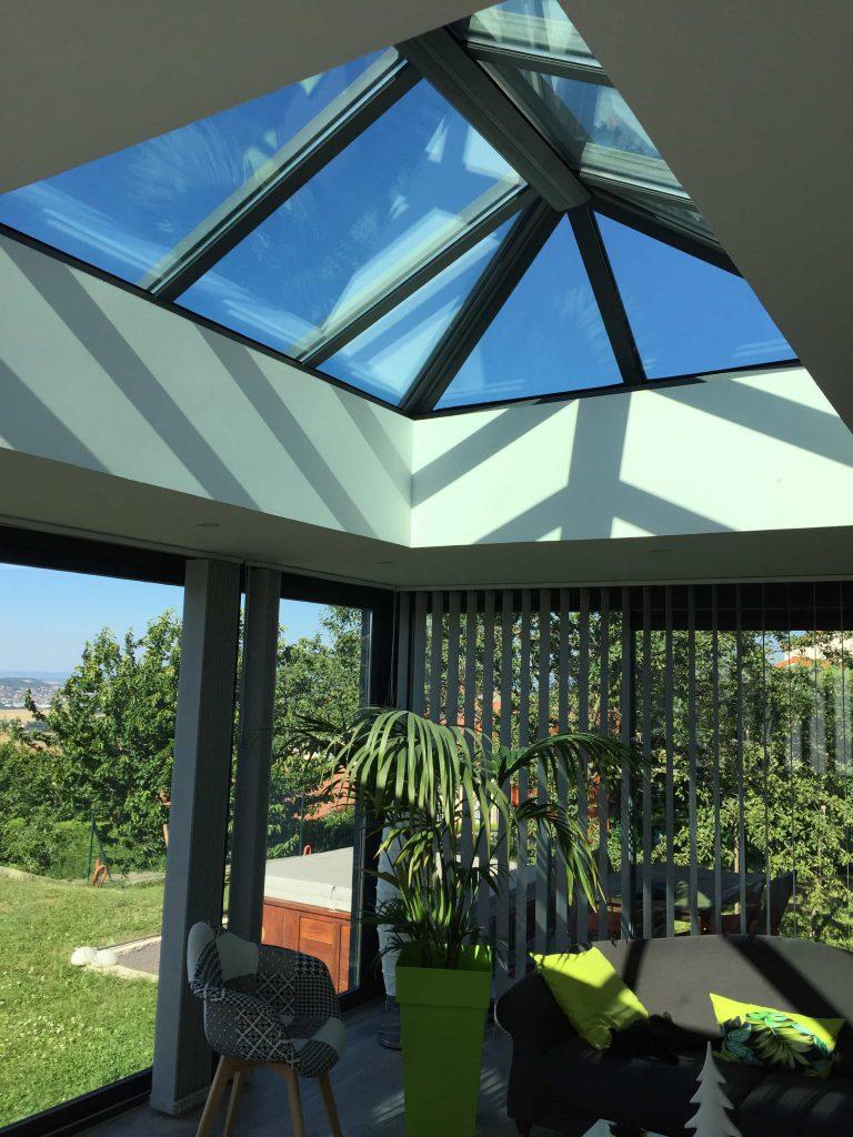 ouverture toit veranda