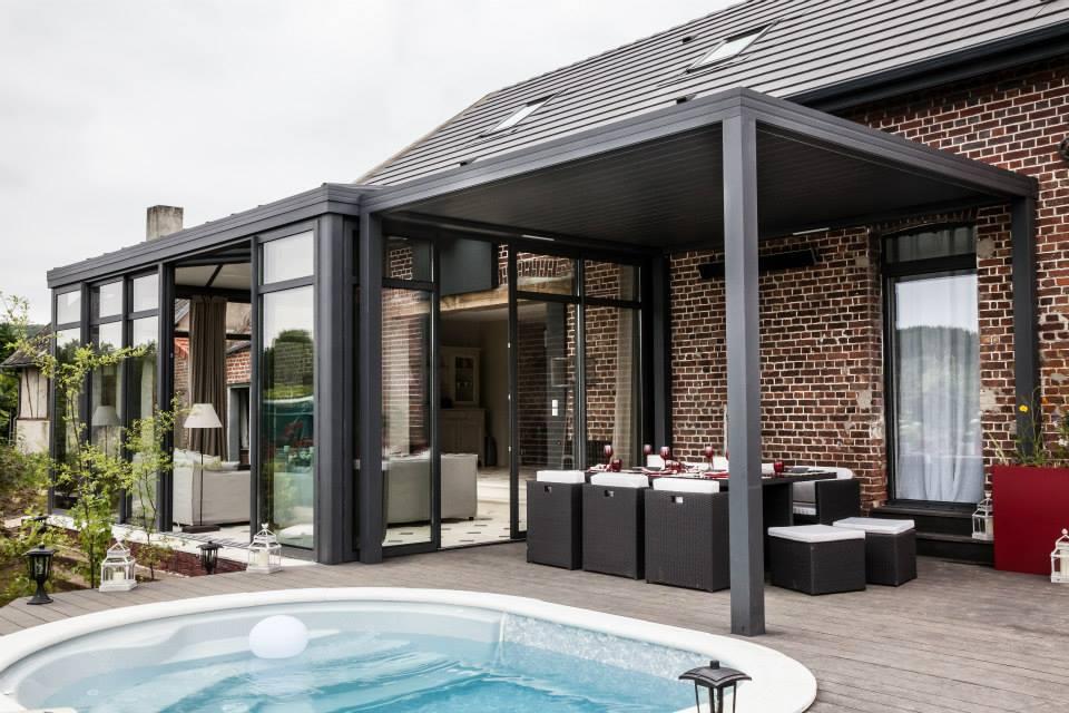 veranda pergola couvrir terrasse