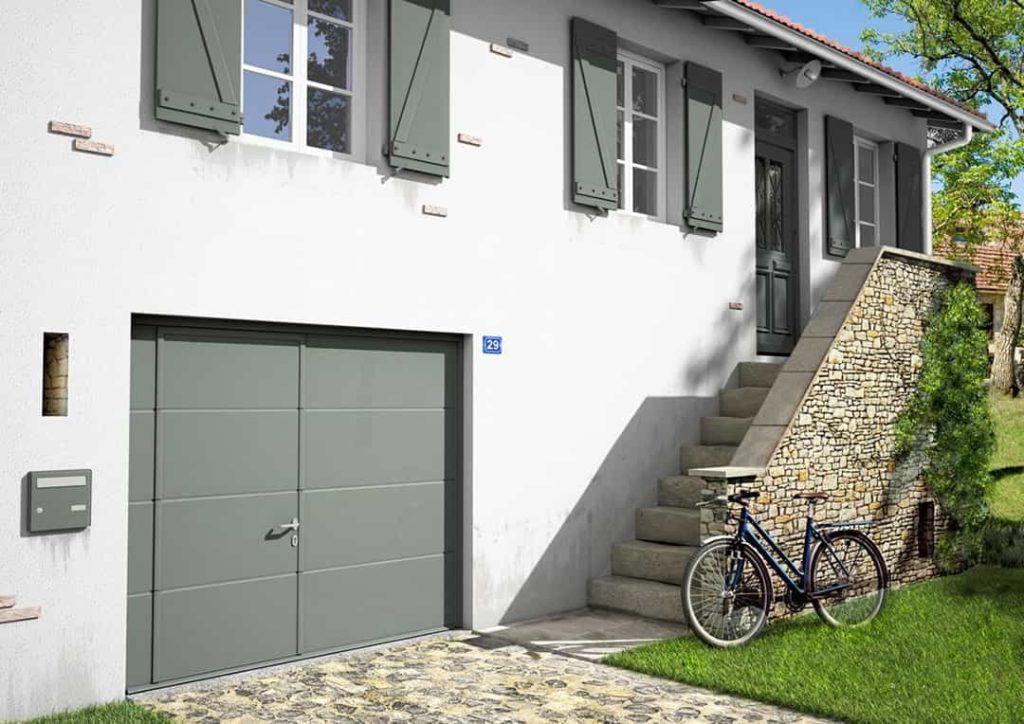 garage avec porte