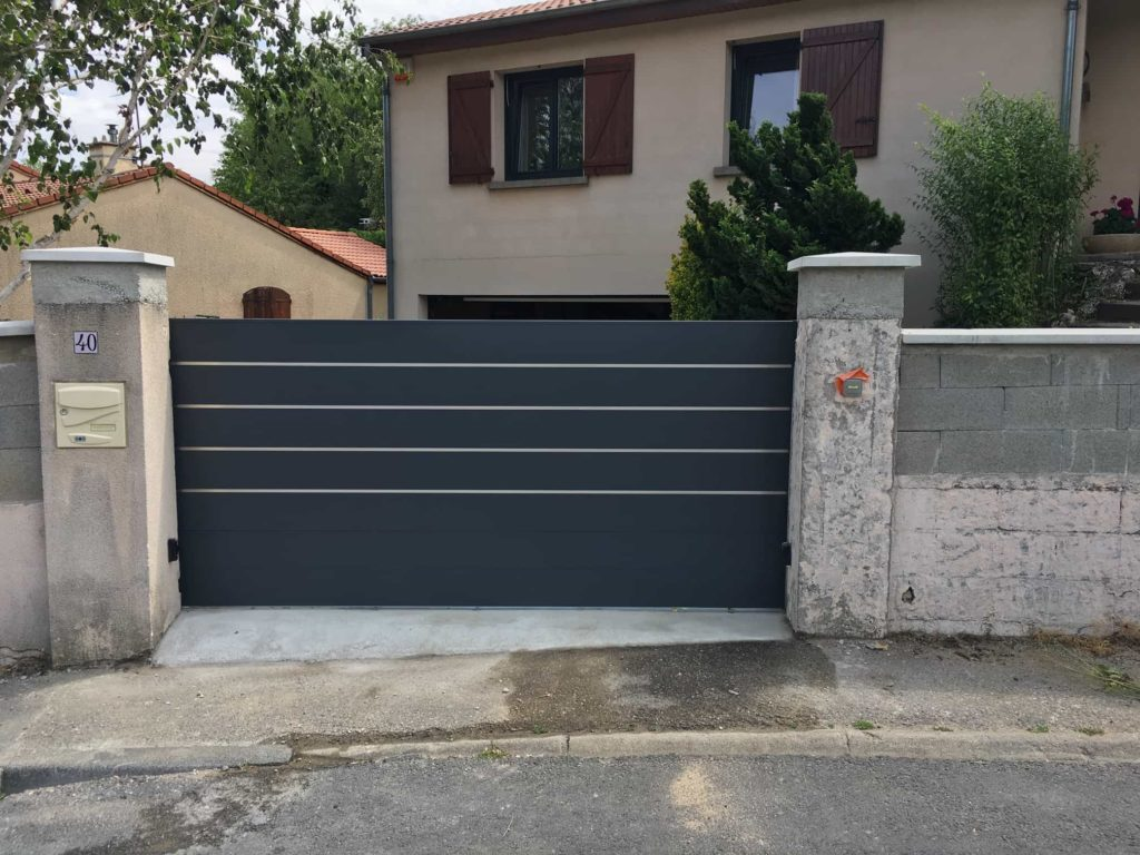 portail anthracite